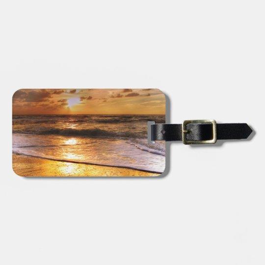 Sunset Bag Tag