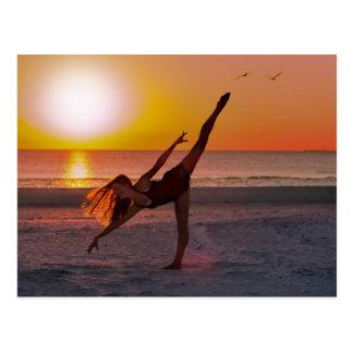 Sunset Ballet Postcard
