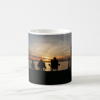 Sunset Beach Camping Coffee Mug