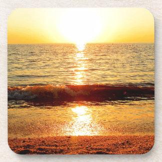 Sunset beach, Cape May NJ Beverage Coaster