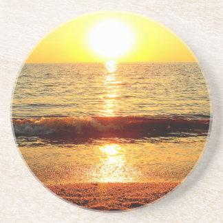 Sunset beach, Cape May NJ Drink Coasters