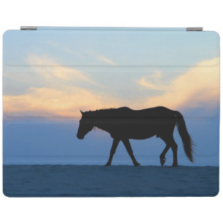 Sunset Beach Horse iPad Cover