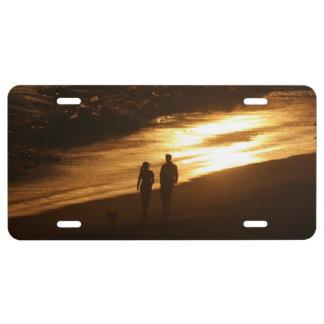 Sunset Beach License Plate