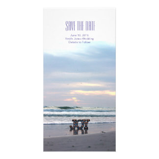Sunset Beach Save the Date Photo Cards