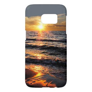 Sunset Beach Summer Scenic Samsung Galaxy S7 Case