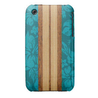 Sunset Beach Surfboard Barely There iPhone 3GS iPhone 3 Case-Mate Cases