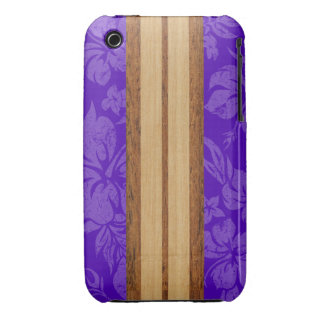 Sunset Beach Surfboard Barely There iPhone 3GS iPhone 3 Cases