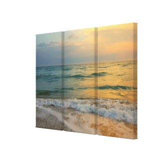 Sunset Beach, The Island. April 15, 2016, 19:34 Canvas Print