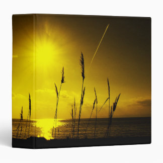 sunset binder