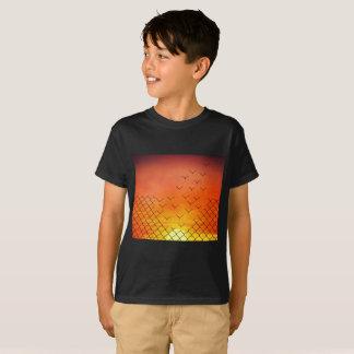 sunset birds escape T-Shirt