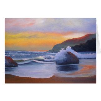 Sunset - Blank Greeting Card