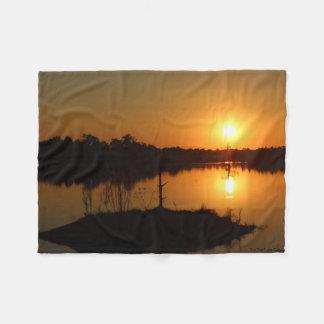 Sunset Blankie Fleece Blanket