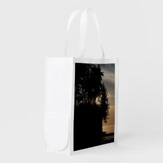 Sunset Bluff Reusable Grocery Bag
