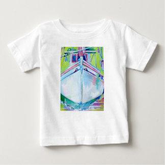 Sunset Boat Baby T-Shirt