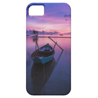 Sunset Boat phone case