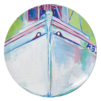 Sunset Boat Plate