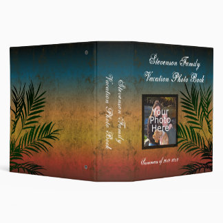 Sunset Branches Photo Book Vinyl Binder