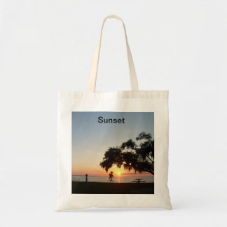 Sunset Budget Tote Bag