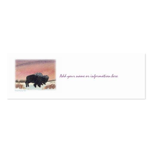 Sunset Buffalo Business Cards