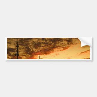 Sunset Bumper Sticker