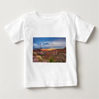 Sunset Burning Ridge Colorado National Monument Baby T-Shirt