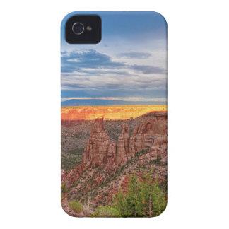 Sunset Burning Ridge Colorado National Monument Case-Mate iPhone 4 Case