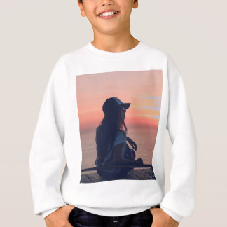 sunset by the beach sweatshirt