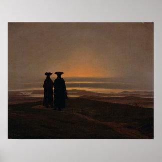 Sunset  c.1830-35 poster