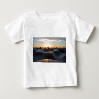 Sunset California Dreams Skateboard Park Freestyle Baby T-Shirt