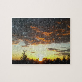 Sunset ... calming challenging jigsaw puzzle 2