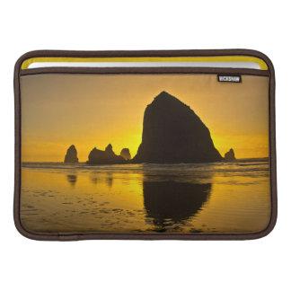 Sunset, Cannon Beach, Oregon, USA MacBook Sleeves