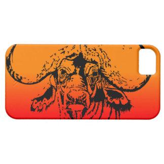 Sunset Cape Buffalo I phone case