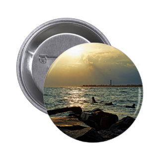 Sunset Cape May 2 Inch Round Button