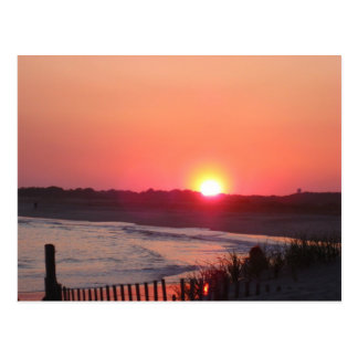 Sunset * Cape May, New Jersey Postcard