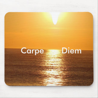 Sunset, Carpe Diem - Customized Mouse Pad
