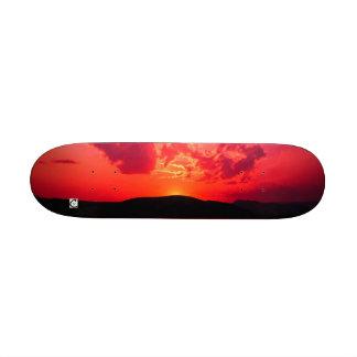 Sunset, Carver12 Custom Skate Board