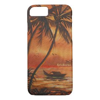 Sunset ⛵ Case Premium Painting iPhone 8/7