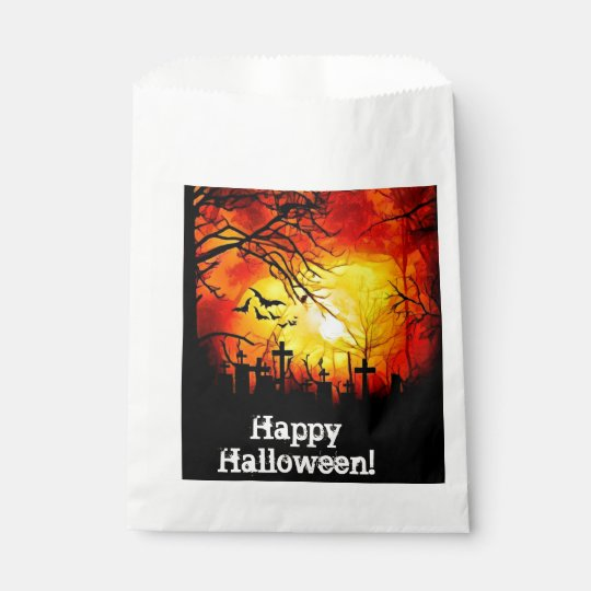 Sunset Cemetery Favours Bags