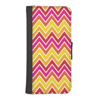 Sunset Chevron Stripe iPhone 5 Wallet