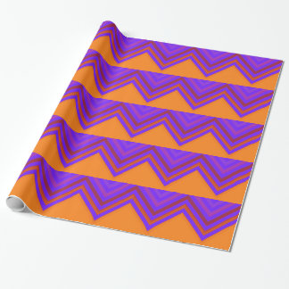 Sunset Chevron Wrapping Paper