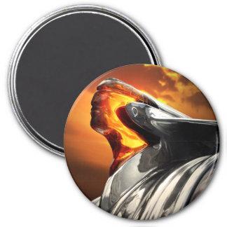 Sunset Chief Pontiac Chieftain Classic Car Magnet