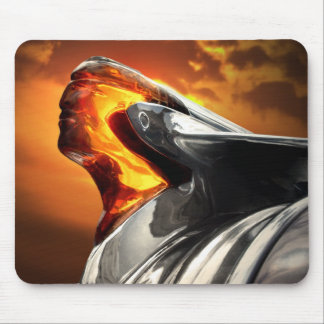Sunset Chief Pontiac Chieftain Classic Car Mouse Pad