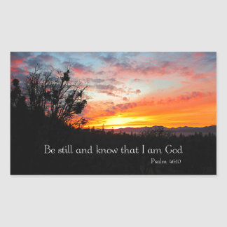 Sunset Christian Bible Verse Creationarts