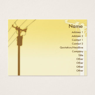 Sunset - Chubby Business Card