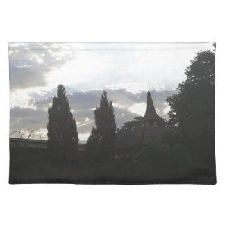 Sunset Church Placemat