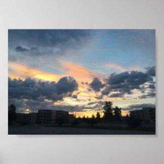 Sunset City Photography Print