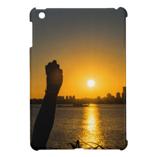 Sunset Cityscape Scene, Montevideo, Uruguay Cover For The iPad Mini
