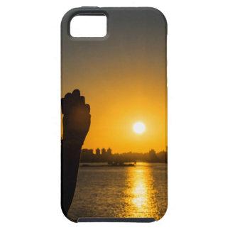 Sunset Cityscape Scene, Montevideo, Uruguay iPhone 5 Case