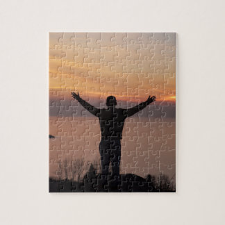 Sunset Cliff Jigsaw Puzzle