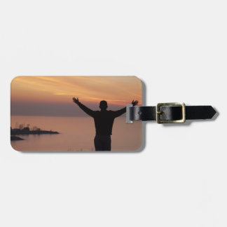 Sunset Cliff Luggage Tag